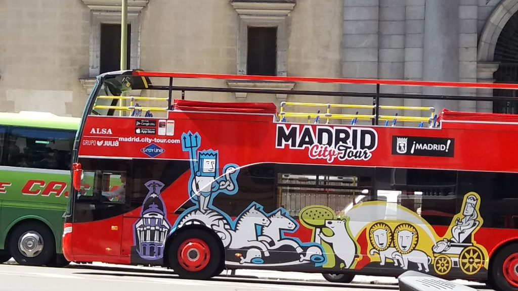 Madrid City Bus