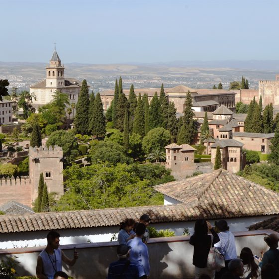 View across the Alhambra