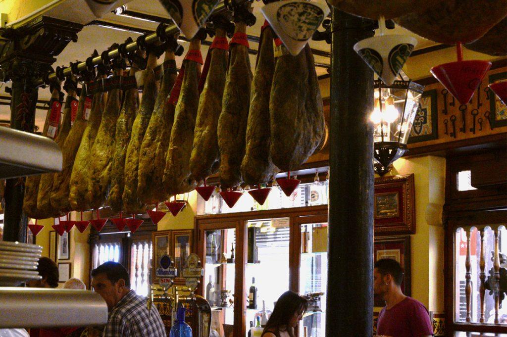 Tapas Bar Granada Spain