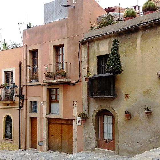 Typical Granada street scene