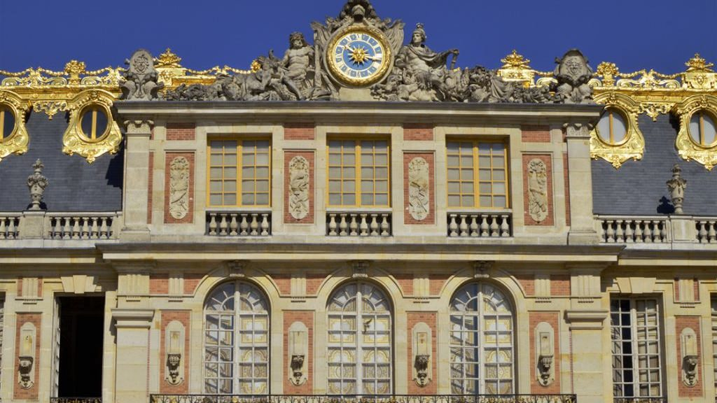 Gleaming gold Palace of Versailles