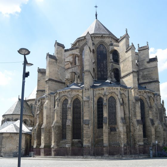 Soisson, France Cathedral