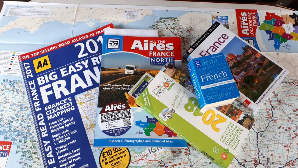 France Maps and Books