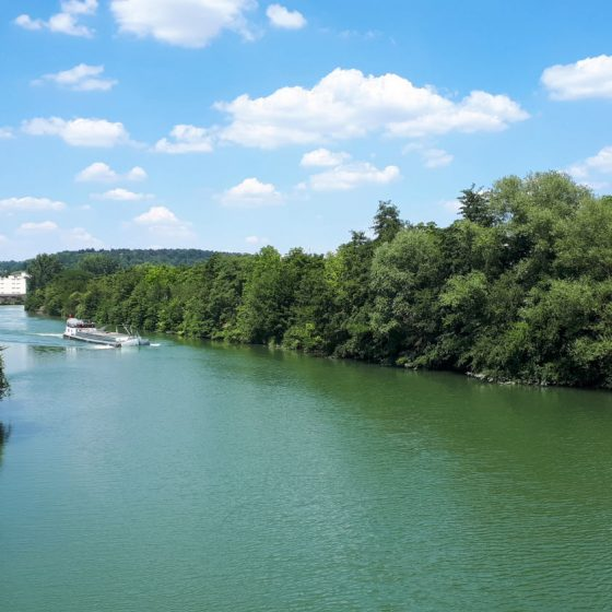 The Aisne River, Soisson France