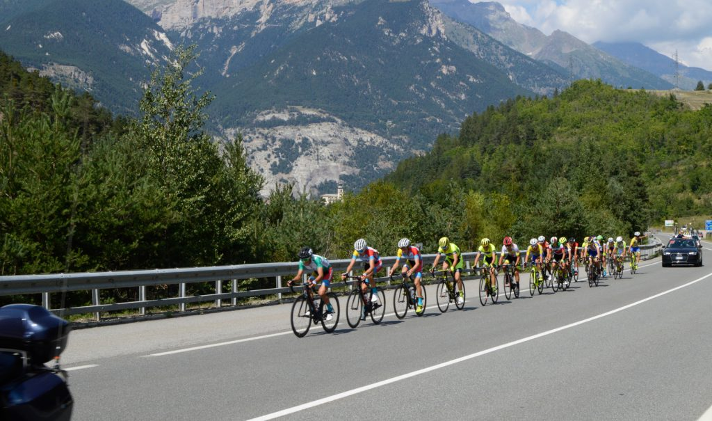 Susa Italy Cycle Race