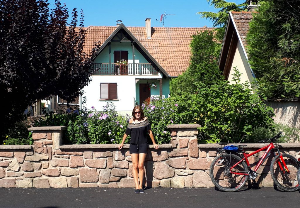 Cycling in the Alsace