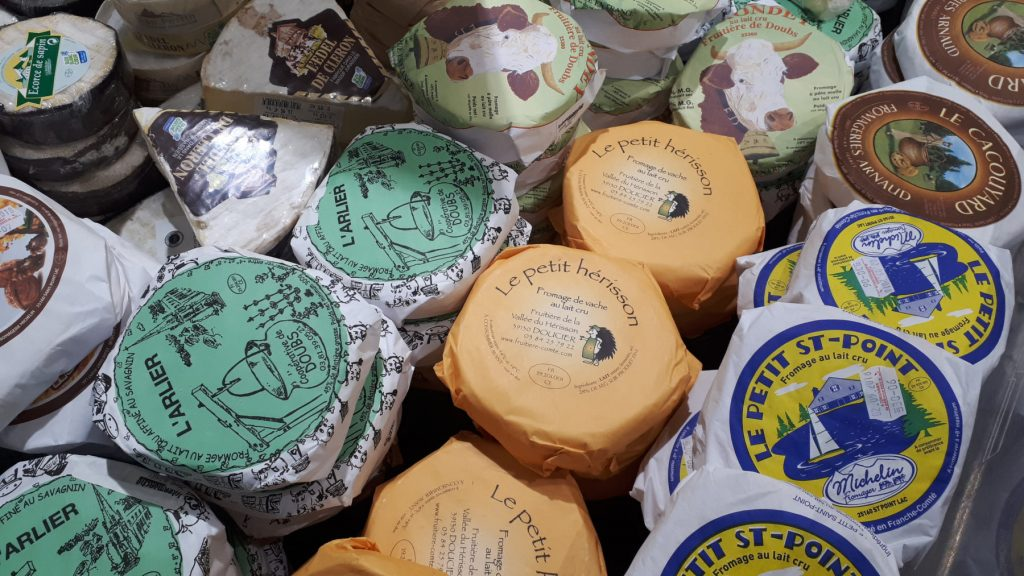 French cheese galore