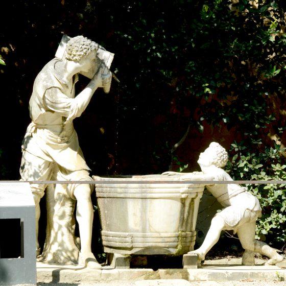 Florence Giardino Biblo Statue