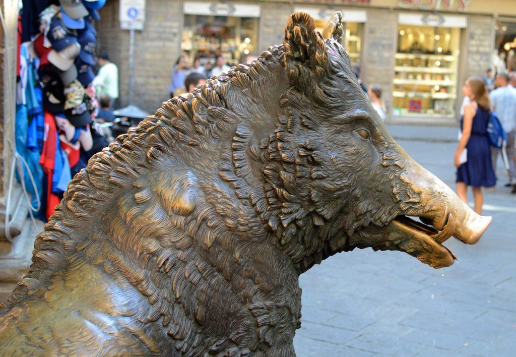 Florence Wild Boar Mercato Nuovo