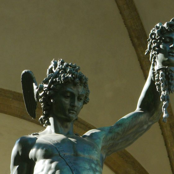Florence Cellinis Perseus with the head of Medusa