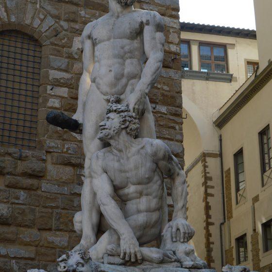 Florence statue Piazza della Signoria