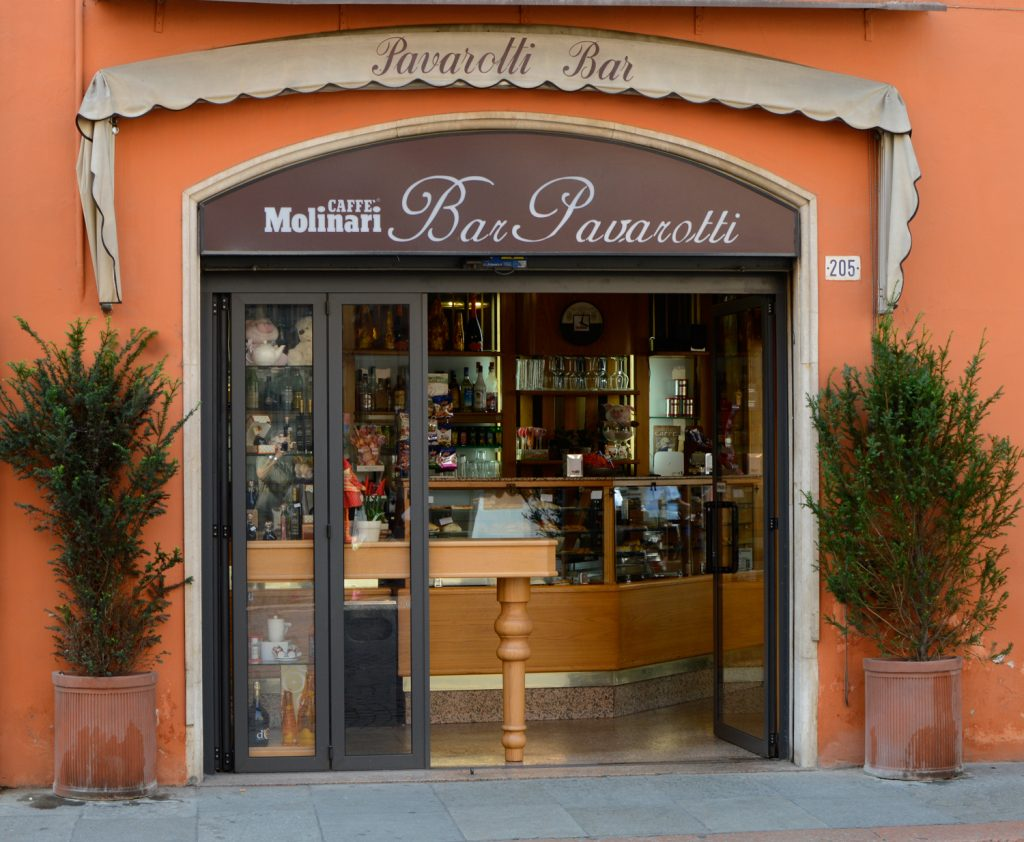 Modena Pavarotti Bar