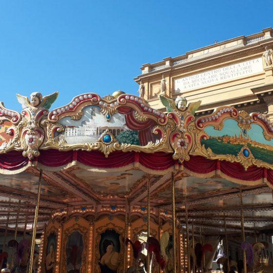 Carousel in Piazza Republica Florence