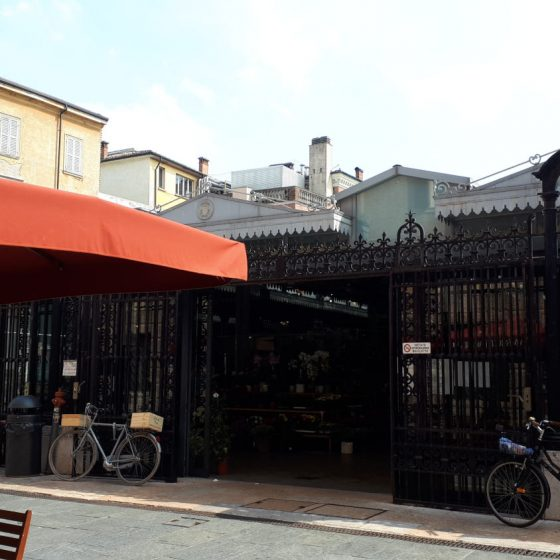 Mercato Albinelli Modena - covered market