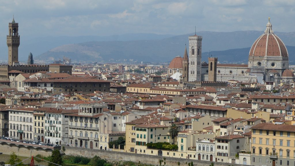 Florence panarama From Piazzola Michelangelo