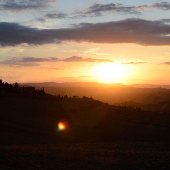 Tuscany Sun Set