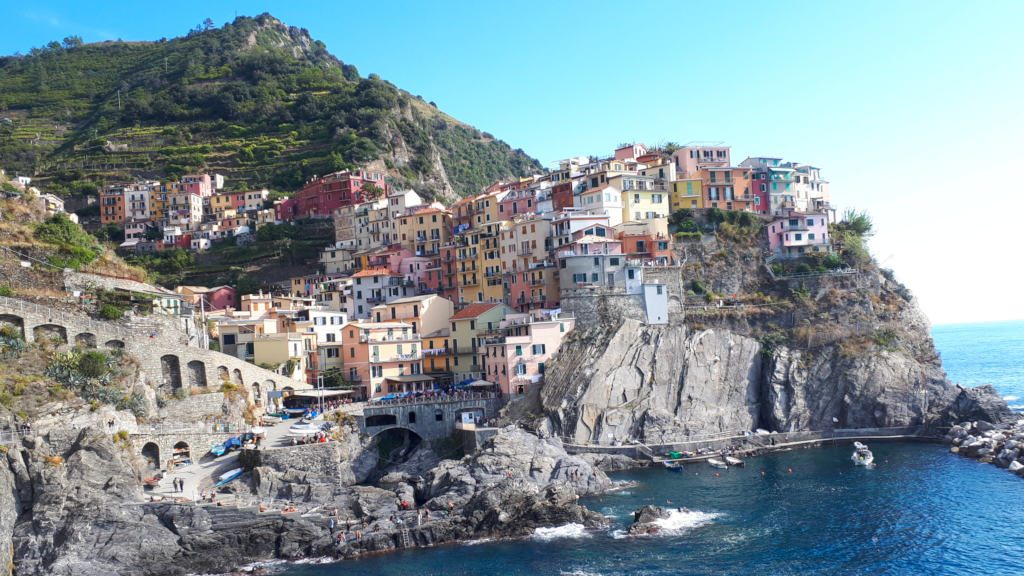 Manarola village in the Cinque Terre, Italy