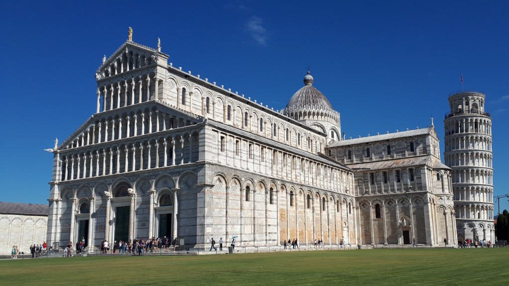 Pisa Cathedral from the Field of Miracles