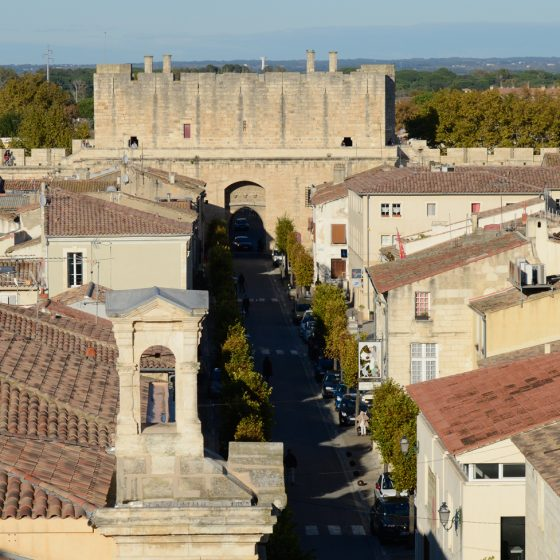Aigues-Mortes - Porte StAntoine - City gate