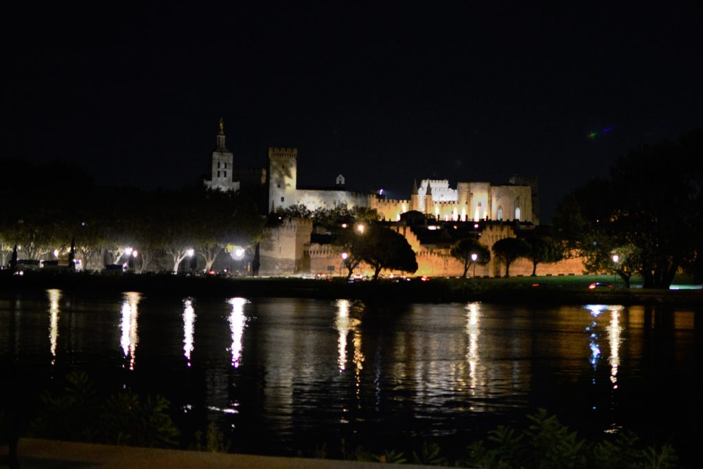 Avignon - Pont des Palais at night
