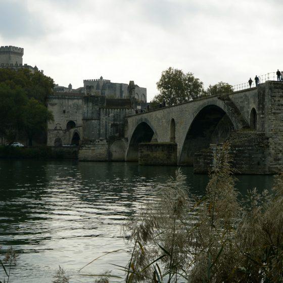 Avignon - Pont St Benezet bridge