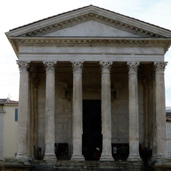 Nimes - Maison Carree Roman Temple