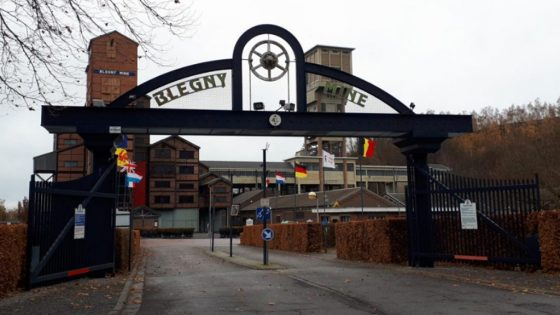 Blegny-Mine entrance gate
