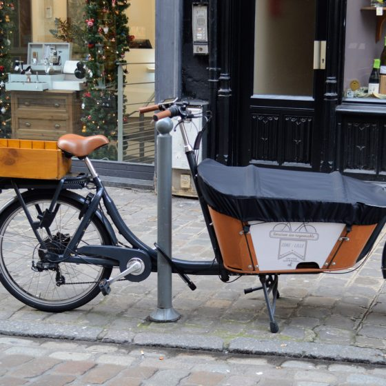 Lille - Eco Wine Delivery Bike