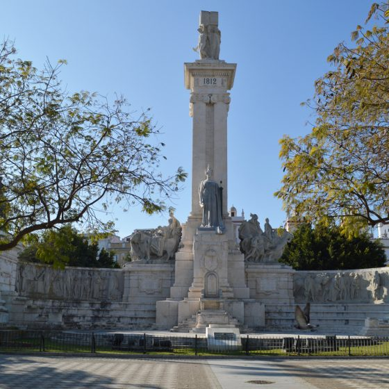 Cadiz city centre war memorial