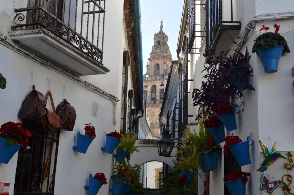 Cordoba Flower Street and Belltower