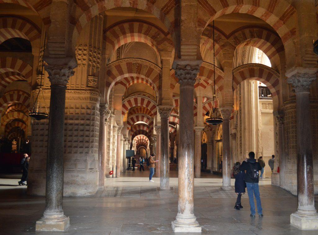 Cordoba Mezquita Inner hall
