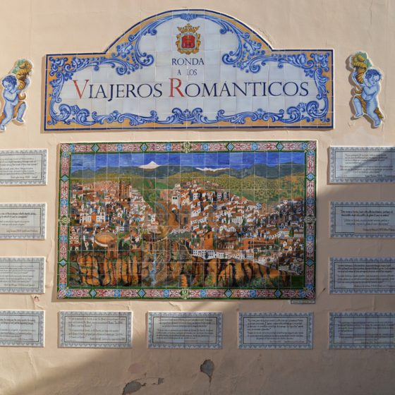 Ronda - Romantic tiles in the old town