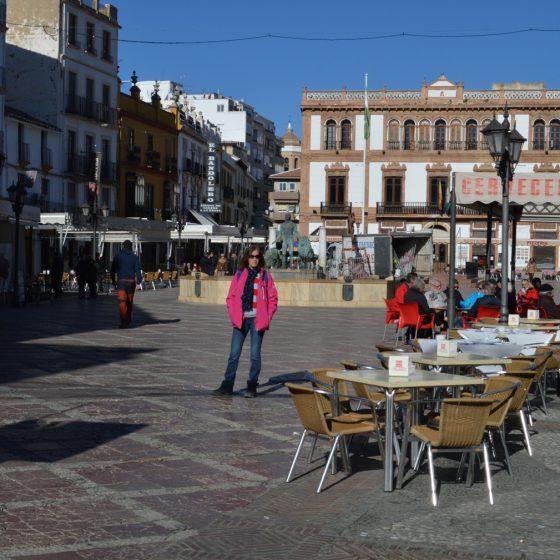 Ronda - Marcella in the Plazza Socorro