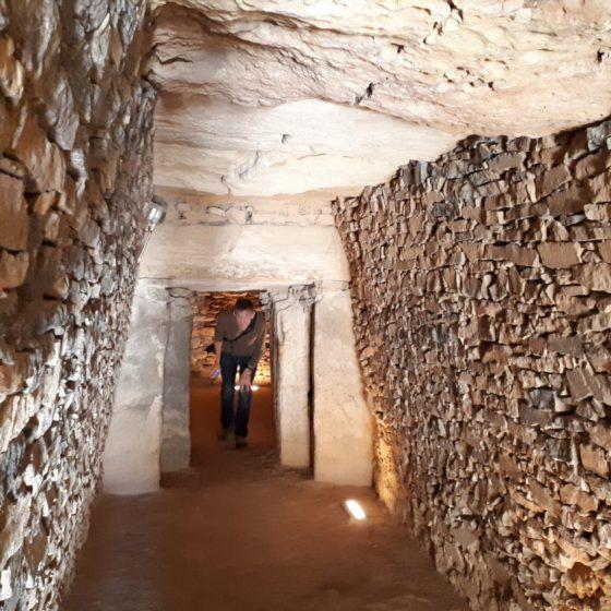 Inside the Antequera Dolmen