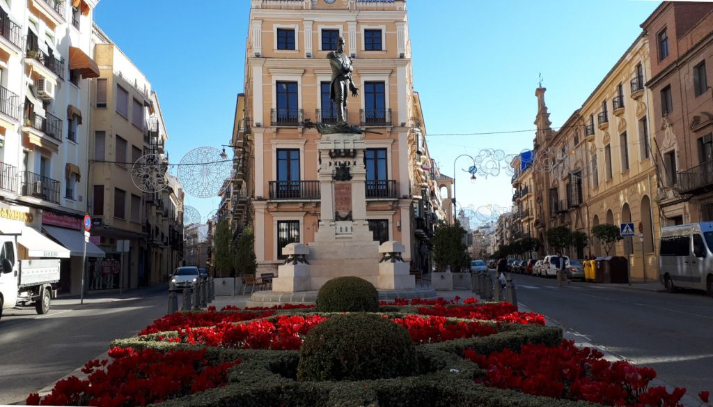 Antequera Spanish baroque style buildings