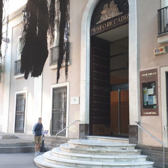 The Cadiz museum - Free to visit but all in Spanish!