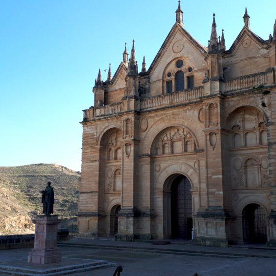 Hilltop church at Antequera