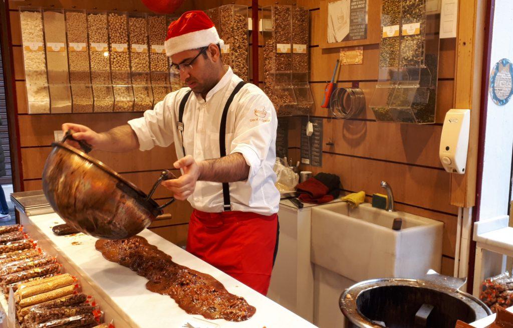 Caramel making in Cordoba