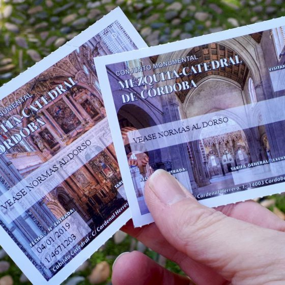 Tickets to the Mezquita Catedral de Cordoba
