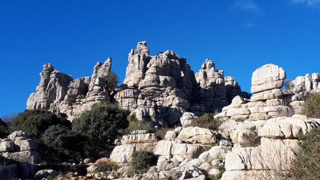 El Torcal karst landscape
