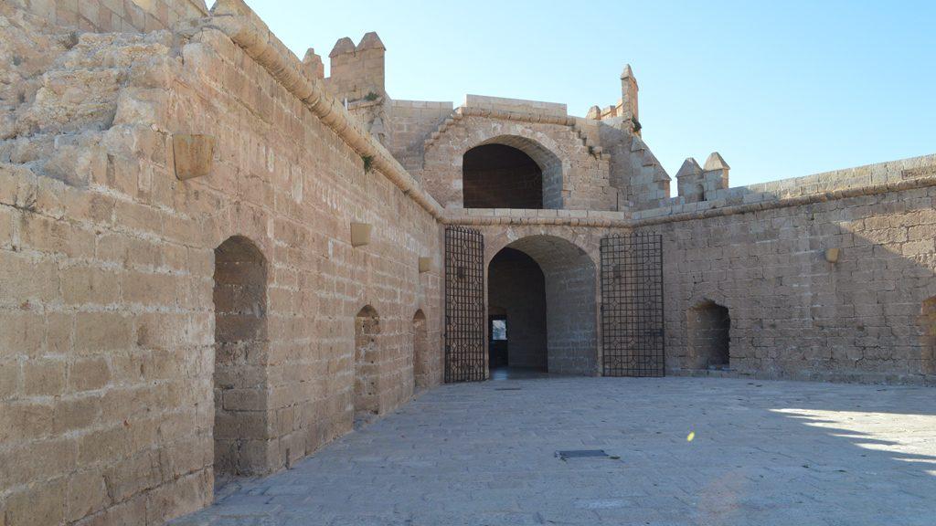 Almeria - Alcazaba - Cannons
