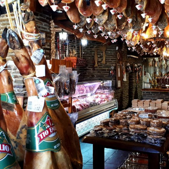 Ham in Trevelez