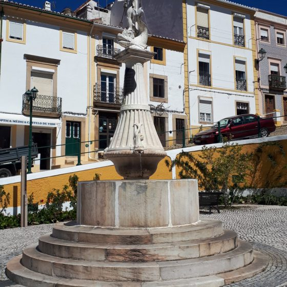One of the many fountains in Castelo de Vide