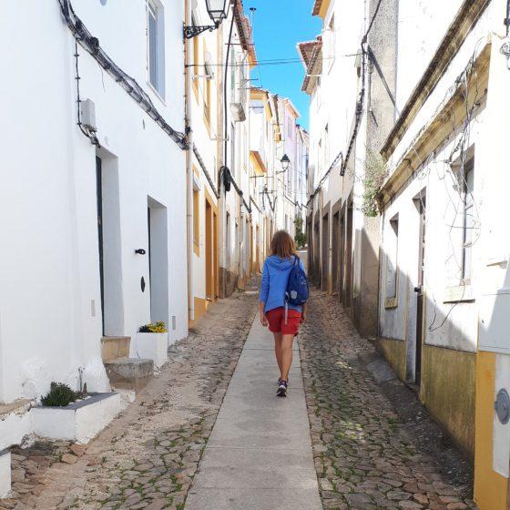 The picturesque narrow streets of Castelo de Vide