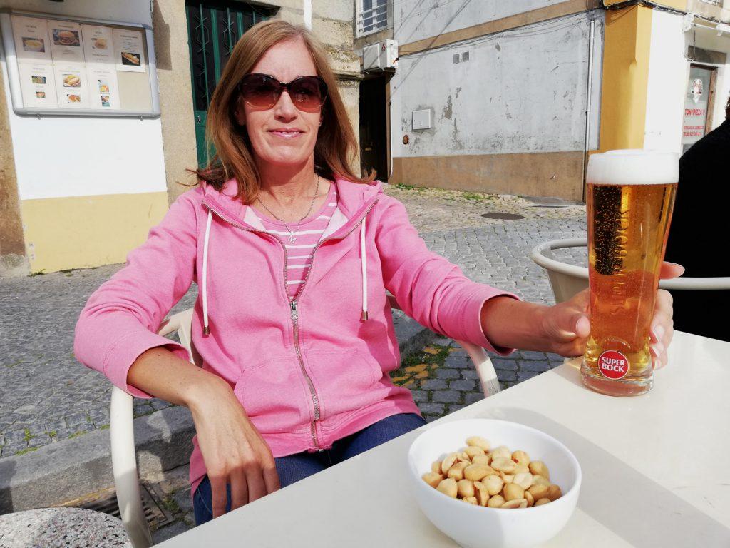 Castelo de Vide - A Beer in the sun