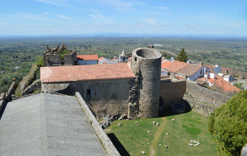 Castelo de Vide - View from castle roof