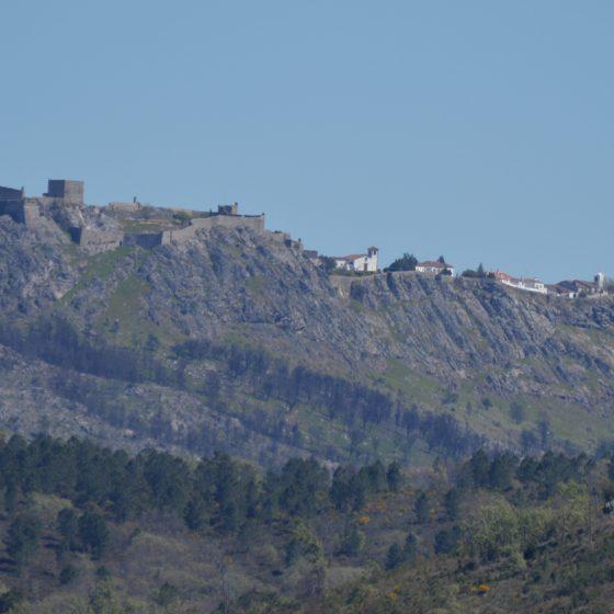 Castelo de Vide - View of Marvao