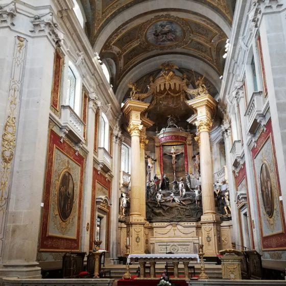 Braga - Bom Jesus do Monte - Church interior