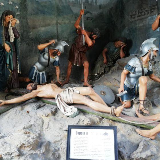 Braga - Bom Jesus do Monte - Chapel scene