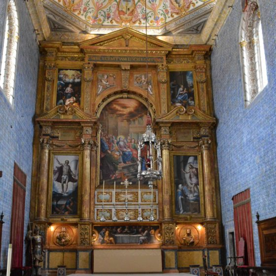 Coimbra University - St Michaels Chapel